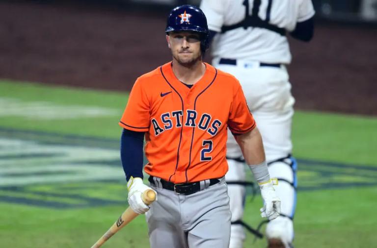 Bregman, Altuve, Alvarez  Out of Astros Lineup