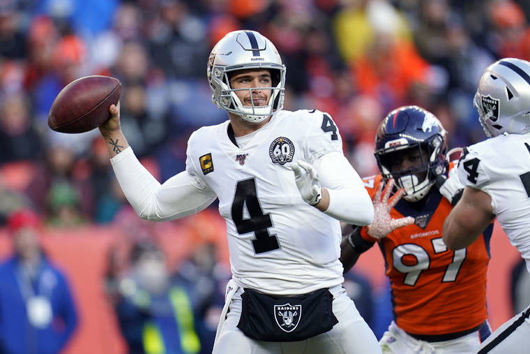 Derek Carr Must Earn Raiders Respect in 2020